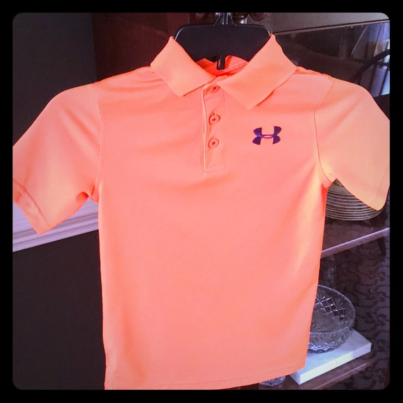under armour boys golf shirt
